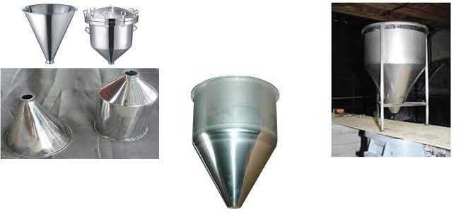 ویبراتور صنعتی برای هاپر مخروطی