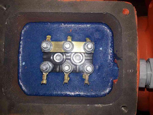 اتصال برقی موتور ویبره